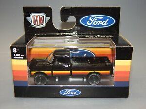 1970 Ford F100 4X4 Custom Black red orange yellow M2 Machines Spring Blowout MIP