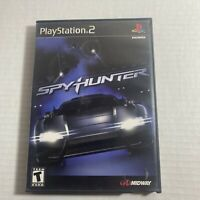 PS2 Spy Hunter Midway Tested Complete w/ Manual, Case Sony Playstation 2