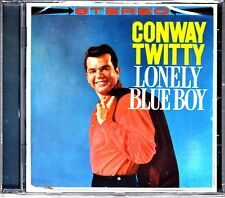 Conway TWITTY-Lonely blue boy/Conway Twitty Cavallina, 2 on 1 edit. CD NUOVO