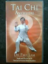 Dr. PAUL LAM ~ TAI CHI ~ ANYWHERE ~ RARE AS NEW VHS VIDEO ~ FREE POST