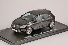 RENAULT CLIO IV in Black / Bleu de France 1/43 scale model by ELIGOR
