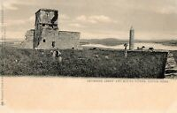 DEVENISH ABBEY & ROUND TOWER LOUGH ERNE FERMANAGH IRELAND TUCK POSTCARD No. 2906