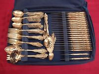 Oneida Community Silverplate SILVER ARTISTRY 124 Piece Silverware Set for 20+