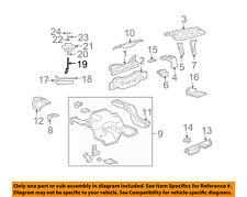 FORD OEM 99-04 Mustang Rear Body-Mount Bolt F32Z1448A