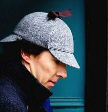 Detective Sherlock Holmes Cosplay Deerstalker Hat Cosplay English Hunting Cap