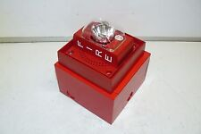 SIEMENS S-LP70-S110S FIRE PROTECTION ALARM STROBE UNIT 110 CANDELA MOUNTING BOX