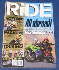 RIDE MAGAZINE JUNE 1999 - ALL ABROAD!
