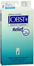 JOBST Medical Knee High 20-30 mmHg Firm Compression Large Black Close-Toe 1 Pair