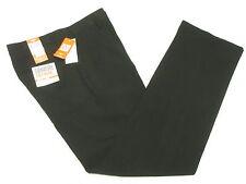 $68 NWT Mens Dockers Signature Golf Flat D2 Straight Fit Pants Black 30/32 N252