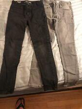 Cherokee Girls Black Skinny Jeans Size 8 New KJ002