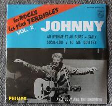 Johnny Hallyday, au rythme et au blues - rocks les plus terribles 2, CD 4 titres