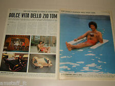 TOM JONES cantante singer clipping articolo foto photo 1977 DOLCE VITA