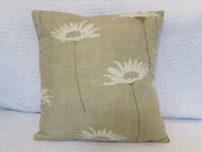 Beautiful Cushion Cover, Laura Ashley, Daisy, Beige, Gold, Silver, Cotton.