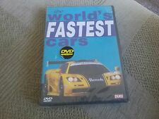 World's Fastest Cars (DVD, 2003) new and sealed