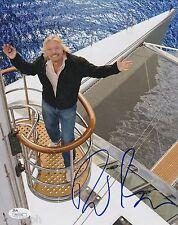 Richard Branson Signed 8x10 Photo w/ JSA COA #M93196 + Proof Virgin Atlantic