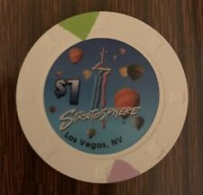 New listing Las Vegas Stratosphere Casino $1 Chip — Uncirculated Combining Ship 50% Off