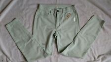 NWT, Aeropostale Tokyo Darling Pastel Green Pants, Ladies Size 2 Regular, NWT