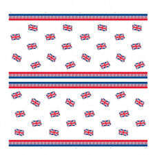 """Union Jack Table Cover 54/"""" x 84/"""" British Flag Adults Party Tableware Supplies"""
