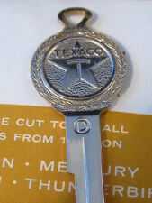 FORD Texaco Gold CREST KEY 1952-65 Thunderbird Galaxie Mustang Gas Oil Vintage
