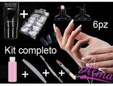 Kit Ricostruzione Completo Poly Gel Acrilico Acrygel Con Dual Forms
