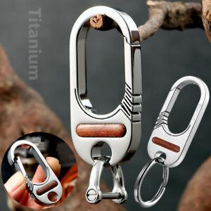 Lightweight material titanium alloy car keychain key ring craftsman qualityFEGVE