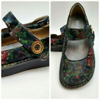 Alegria Paloma  PAL-315 Winter Garden Leather Mary Janes  Size 38