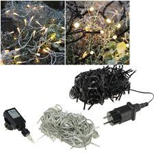 LED Light String 40-600 Leds Warm White With 230V Power Plug IP44 for Outdoor