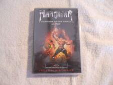 "Manowar ""Warriors of the World United""  2002  Cd &  DVD Box  New Sealed $"