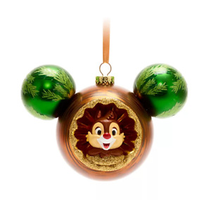 C2 BNWT Shop Disney Store WDW CHIP 'n' DALE Hanging Icon Christmas Decoration