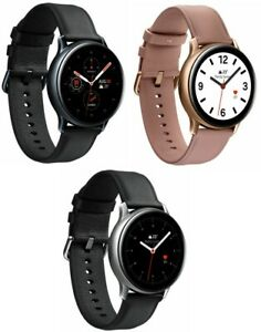 Samsung Galaxy Watch Active 2 - 40mm 44mm Stainless Steel Black Gold Silver LTE