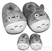 Tonari no Totoro Bus Totoro Courte La Peluche Le Coton Glisser Pantoufles Gift