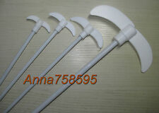 PTFE Coated Steel Stirring Rod Stir Bars Bar , L 600mm XL, W 150mm , D 7mm