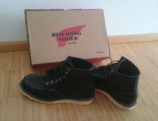 Red Wing Shoes MOC TOE 8130 Black Schnürstiefel - schwarz - UK 7- EUR 41 Neu !!!