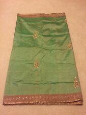 Pattu saree with zardosi work