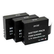 SJ4000 заряда батареи для sjcam SJ4000 wifi SJ5000 plus SJ6000 SJ7000 SJ8000