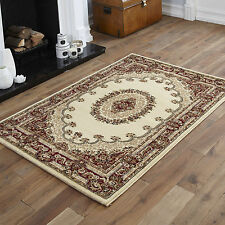 "Large Modern Beige Elegant Classic Traditional 160 X 230 Cm Area Rugs for 160 X 230cm (5ft 3"" X 7ft 7"")"