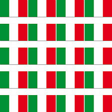 20 Stück Italien Italy Länder Fahne Flagge RC Modellbau Mini Aufkleber Sticker