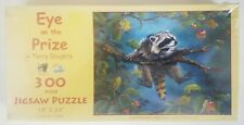 NIB Sunsout EYE ON THE PRIZE 300 piece puzzle by TERRY DOUGHTY no. 71008