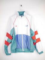 PUMA Kicker Sweatjacke Trainingsanzug Jacke Vintage Retro Herren Gr. XL (D8)