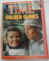 Time Magazine Katherine Hepburn & Jane Fonda November 1981 041615R