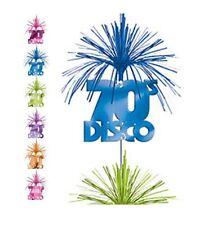 70's Disco Party Club Celebration Cascade Column Dangling Foil Decoration 7FT