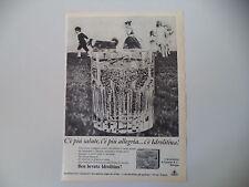 advertising Pubblicità 1967 IDROLITINA GAZZONI