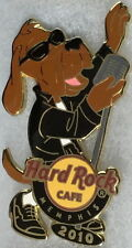 Hard Rock Cafe MEMPHIS 2010 HOUND DOG Series PIN #1/2 Elvis - HRC Catalog #54666
