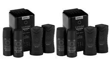2 x Lynx Black Mini Tin Gift Sets Travel Include x 2 Body Spray x 2 Shower Gel