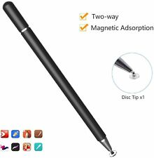 Stylus Pen for Touch Screens, High Sensitivity Capacitive Disc Pencil Magnetism