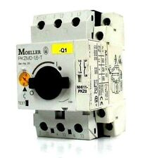 MOELLER PKZM016T MANUAL MOTOR CONTROLLER W/ NHI11-PKZ0 AUXILIARY CONTACT