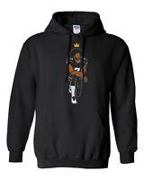 Colin Kaepernick Crown Kneeling Hooded Sweater Sweatshirt Pullover Hoodie