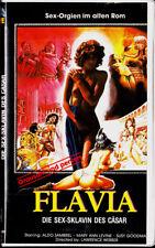 "VHS-FSK 18 - ""FLAVIA"" (1986) - Maria Ann Levine-Aldo Sambrell"