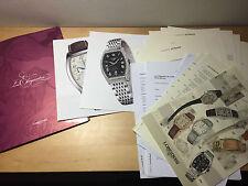 Press Note LONGINES - Les Elégantes - Watches Relojes - Español - For Collectors