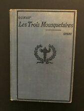 Episodes From: Les Trois Mousquetaires / Alexandre Dumas (1910) - Hardback Book